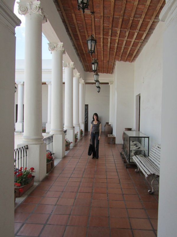 above the Cabildos main patio