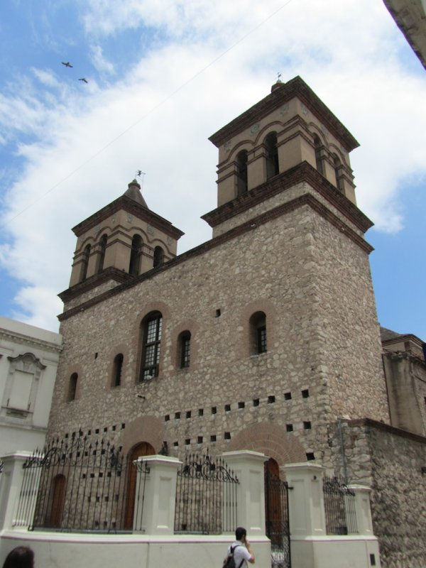 in the Jesuit block; here, the Iglesia de la Compañía de Jesús