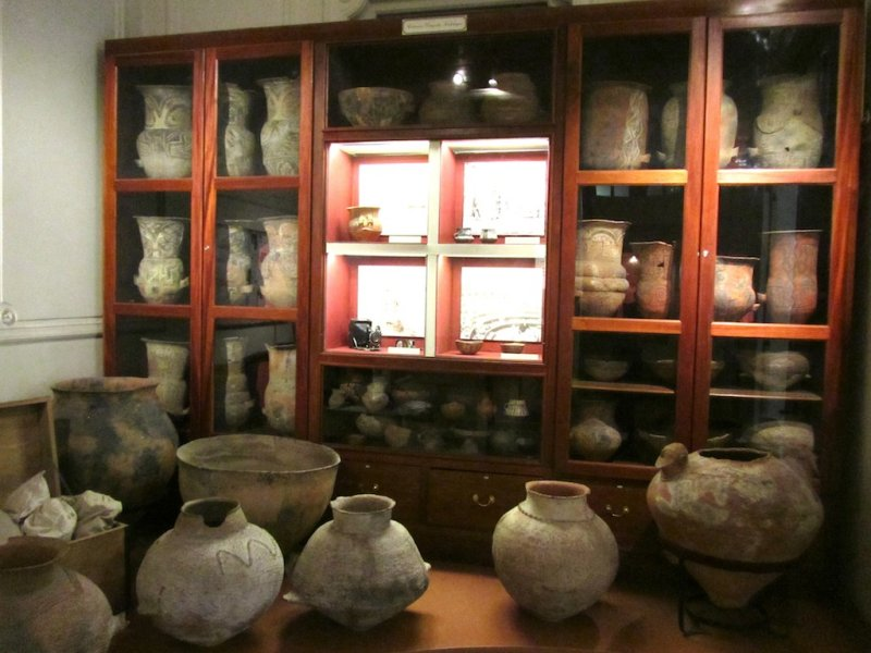 in the museum of anthropology, specializing in cultures of Argentinas north and west