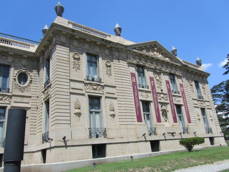 the Palacio Ferreyra, now a modern art museum