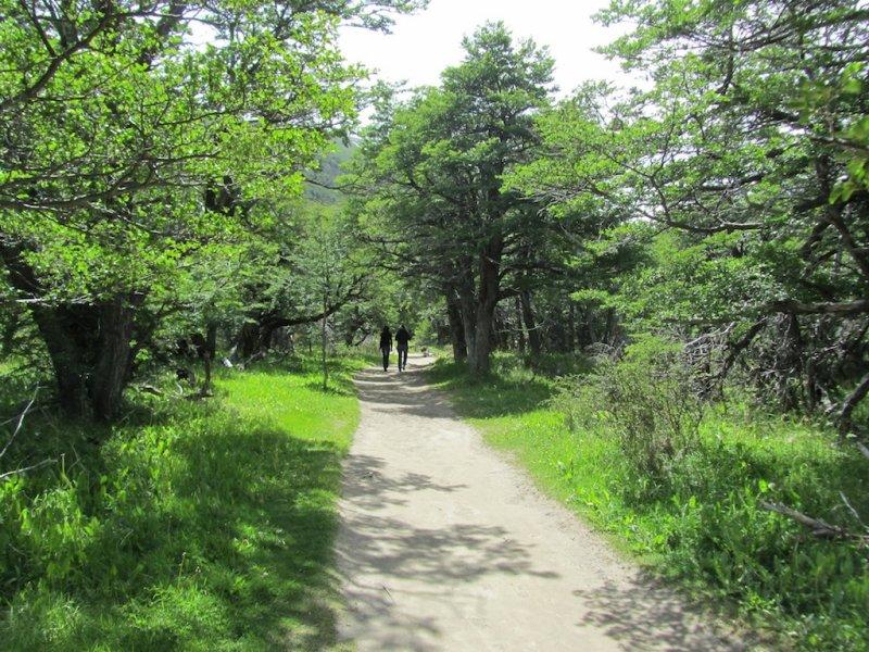 on the trail to el Chorrillo del Salto