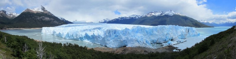 another panorama of the glacier