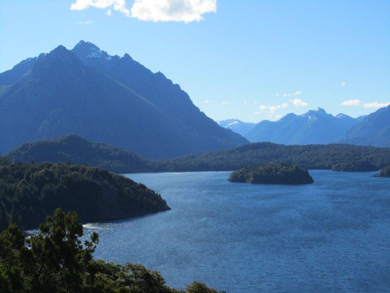 overlooking the Lago Perito Moreno
