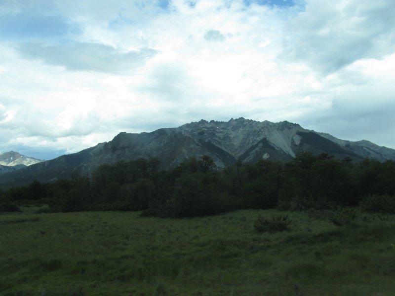 heading back to Bariloche under a threatening sky