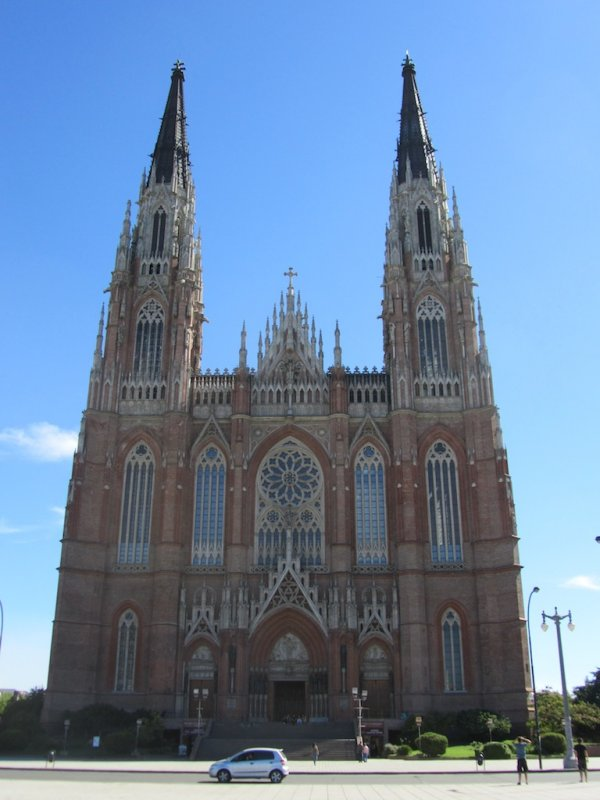 the city cathedral, on the square