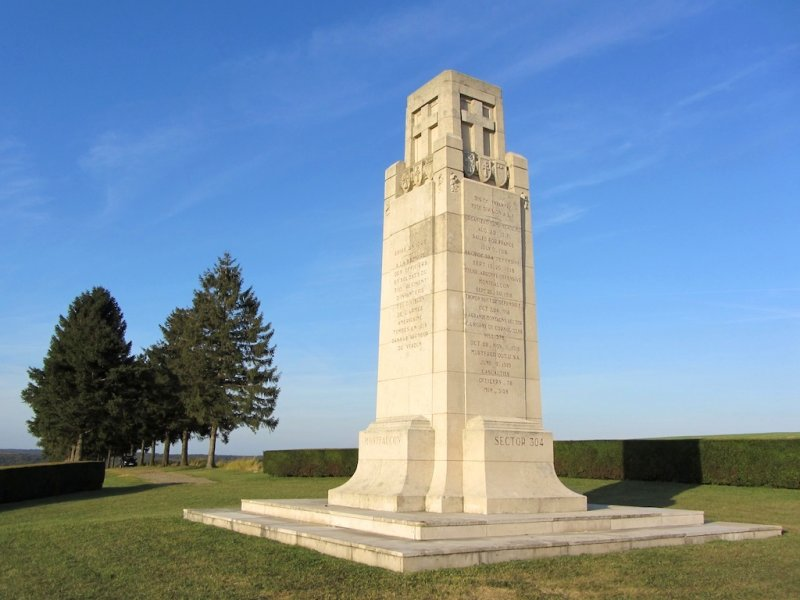 ...an American memorial to soldiers of the 316th Infantry of the 79th Division AEF