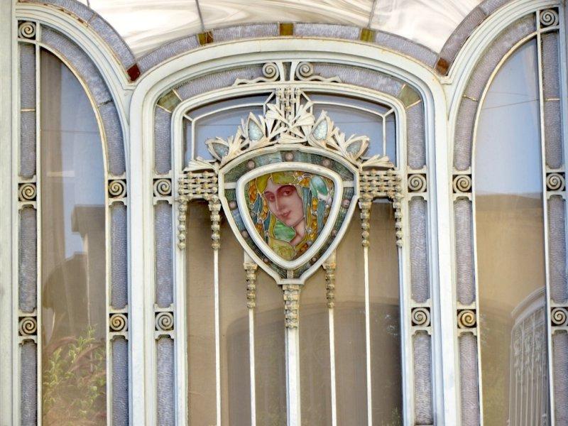 at the museum of the École de Nancy; the town was the source of Frances Art Nouveau movement