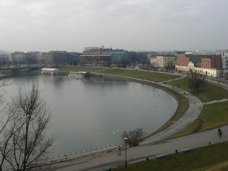 the Wisla river