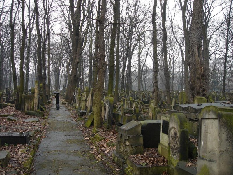 the new (19th~20th century) Jewish cemetery