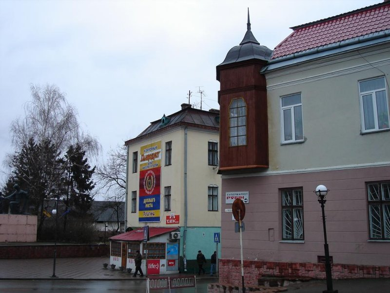 southeast corner of square