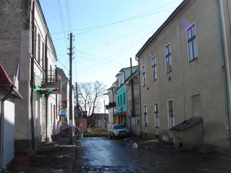 side street off Ivan Franko