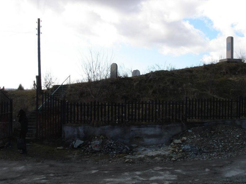 remains of the Jewish cemetery