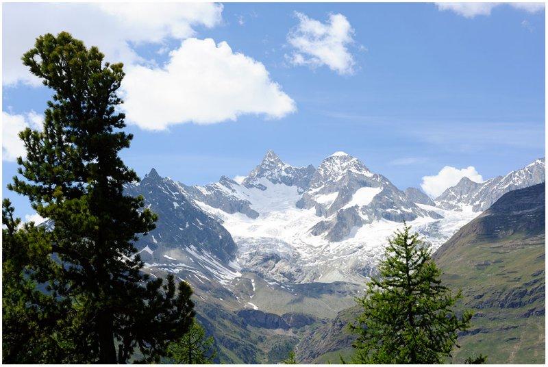 Ober Gabelhorn, Wellenkuppe