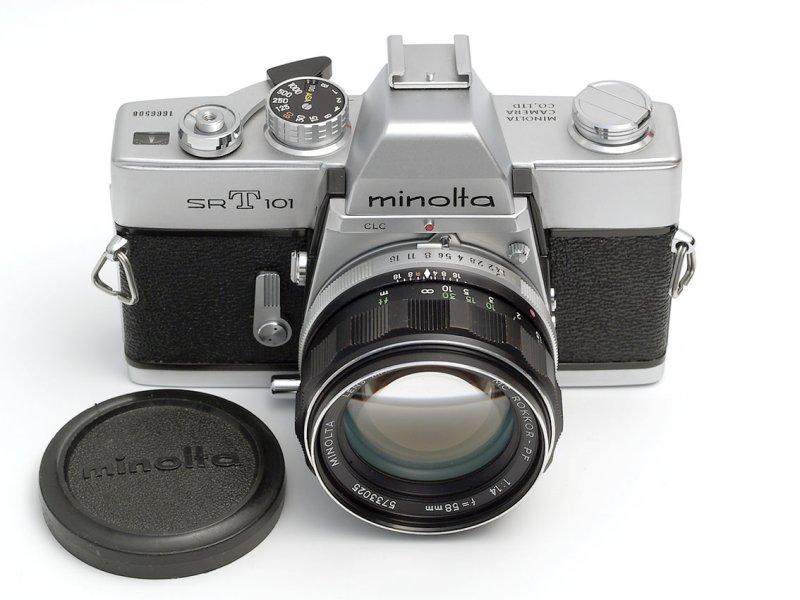 Minolta SRT 101, mod. B