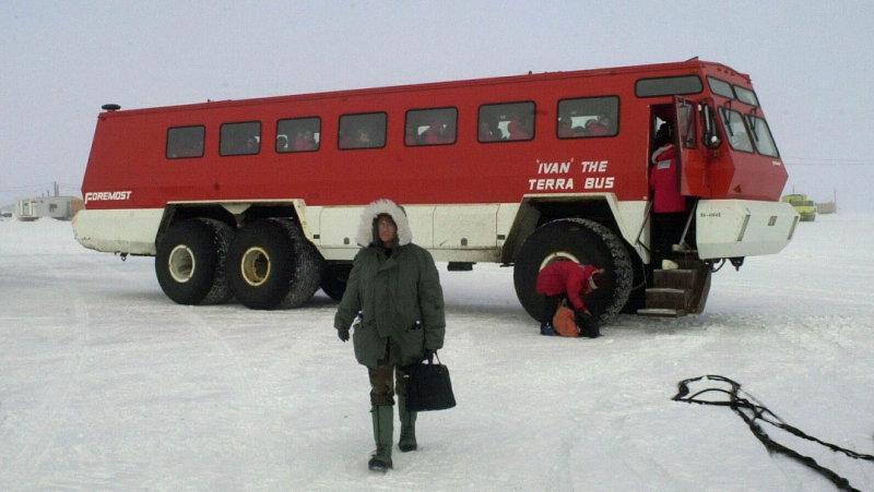 Ivan the Terrabus, transport to McMurco