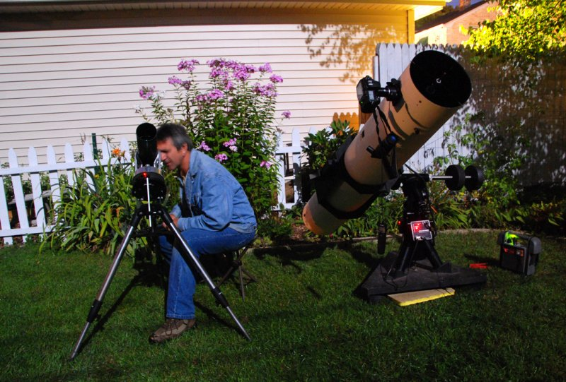 Watching Jupiters moons disappear