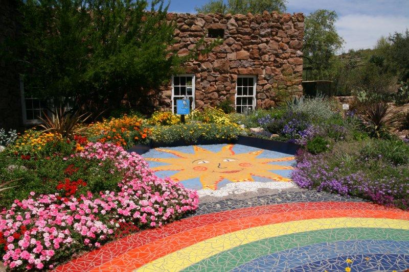 Childrens Garden - The Color Garden