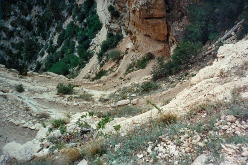 South Kaibab Trail near the Rim