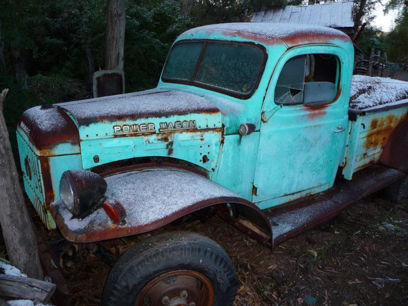 Old Dodge Power Wagon