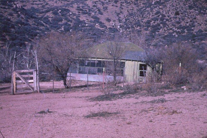 Cline Cabin in 1972