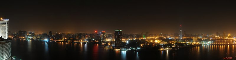 Panorama Cairo by Night