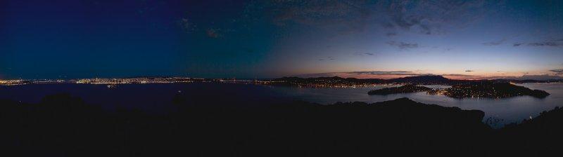 Dusk from Angel Island