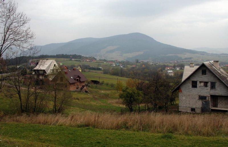 near Mszana Dolna
