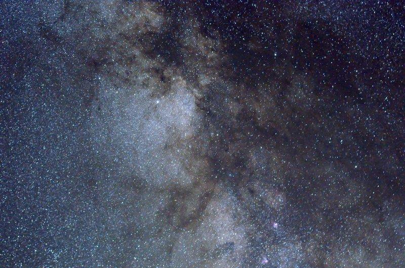 The Milky Way:  Scutum region