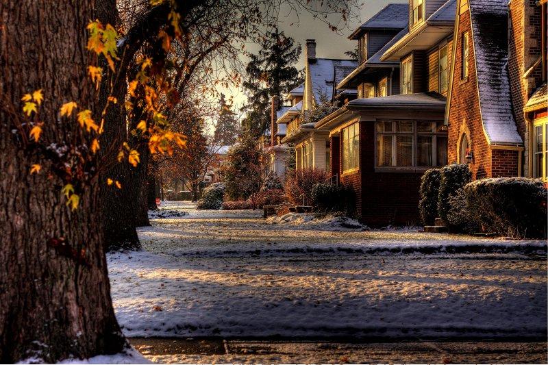 Cool November Morn In Buffalo