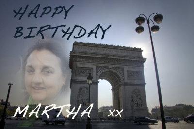 Happy Birthday Martha!