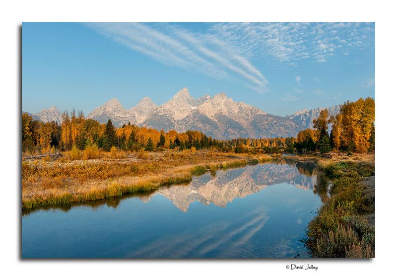 Teton Reflection, Schwabachers Landing