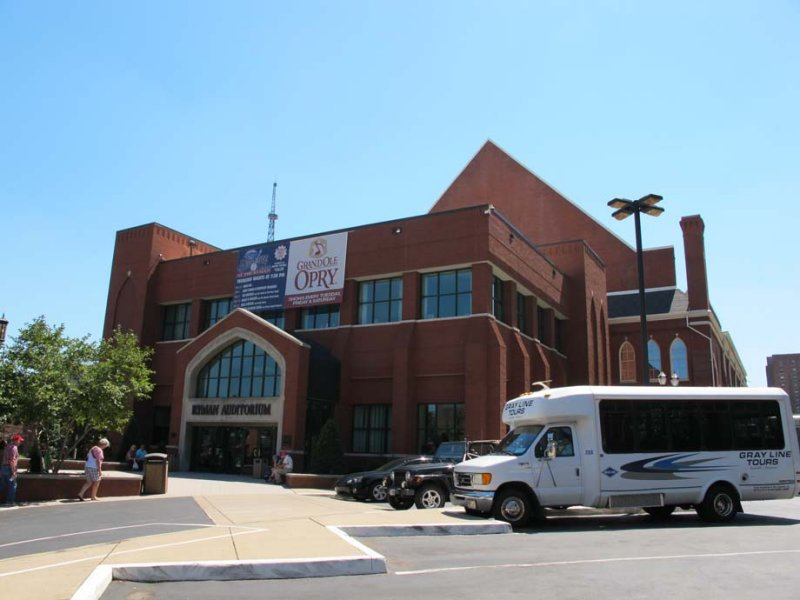 The Grand Ole Opry - The Ryman Theatre