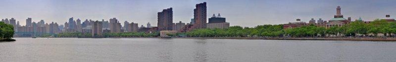 Manhattan from Randalls Island