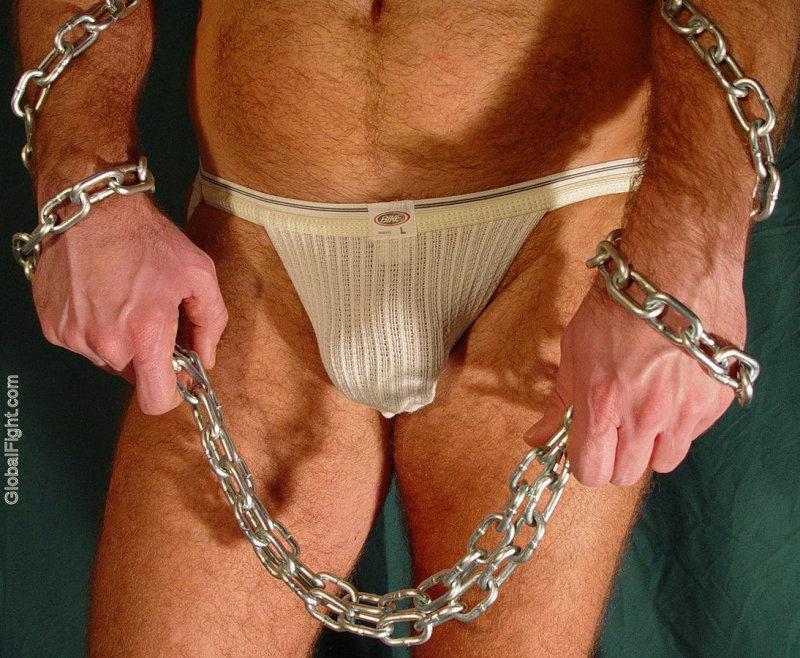 Gay male swim under wear