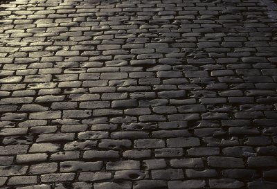 The cobblestones of Portland