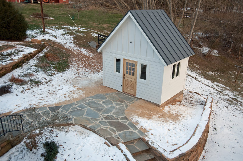 Fully Functional Pump Shed