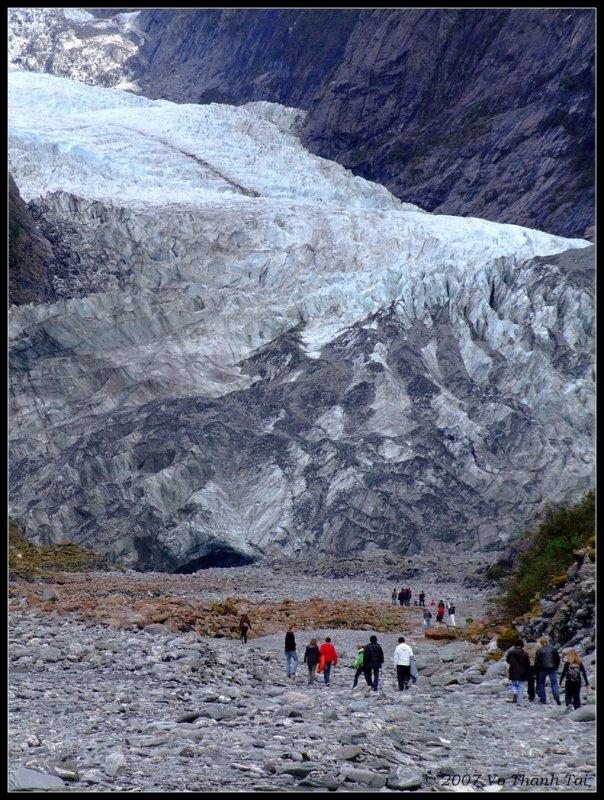 Trekking to Franz Josef Glacier