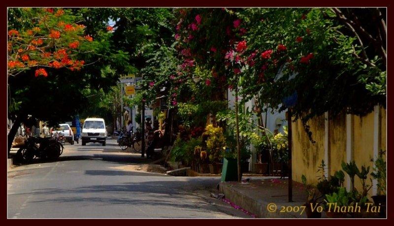 Pondicherry street scene