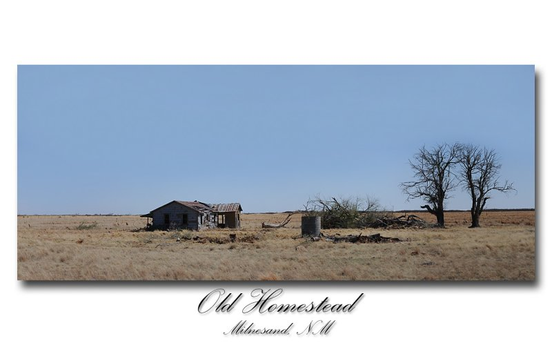 Old Homestead Panoramic