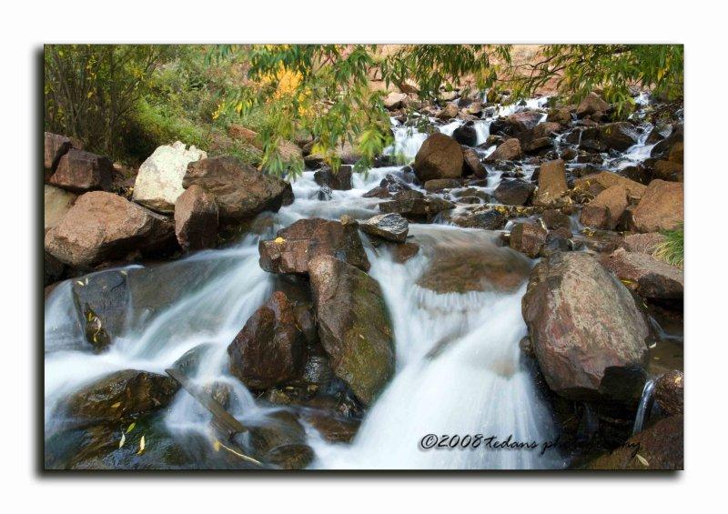 Rainbow Falls Creek