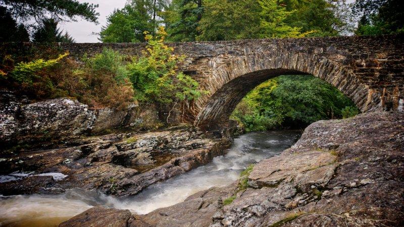 Falls of Dochart Bridge