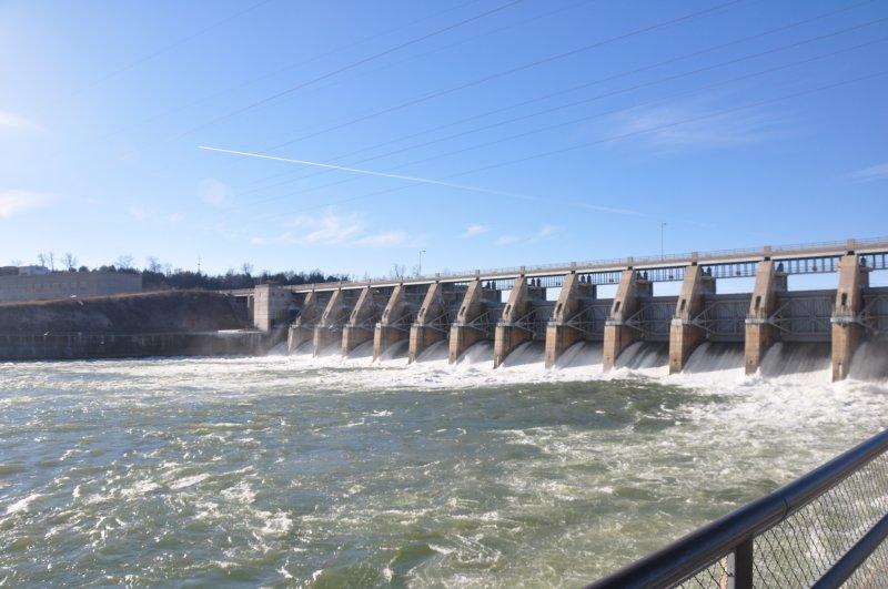 Gavins Point Dam - north side