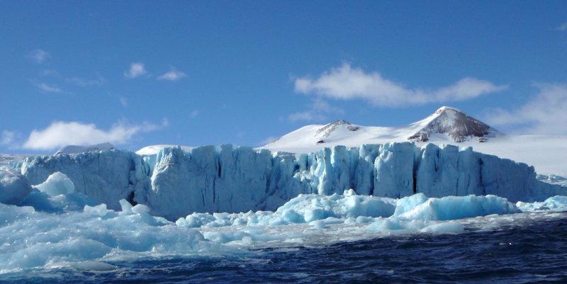 Glacier at Haddon Bay, Joinville Island