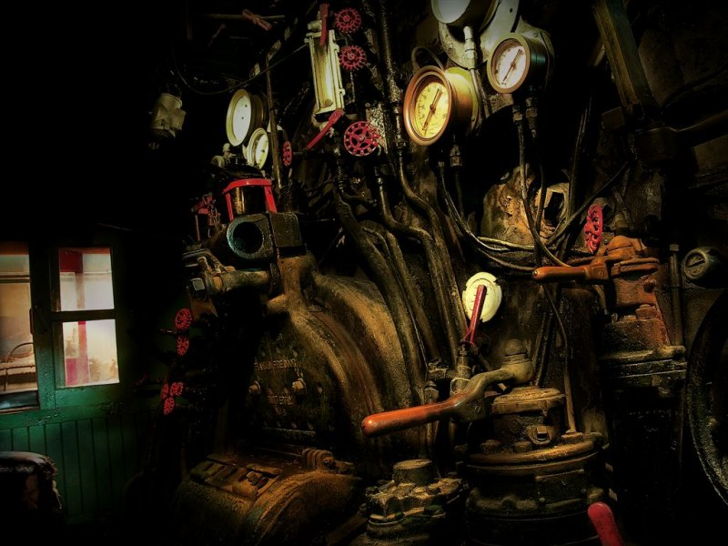 Boilers Control Room