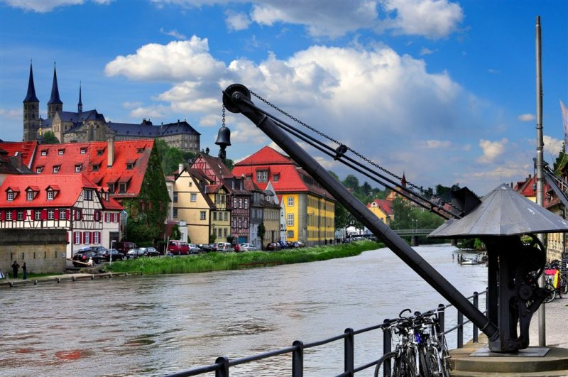 River Stroll in Bamberg, Bavaria