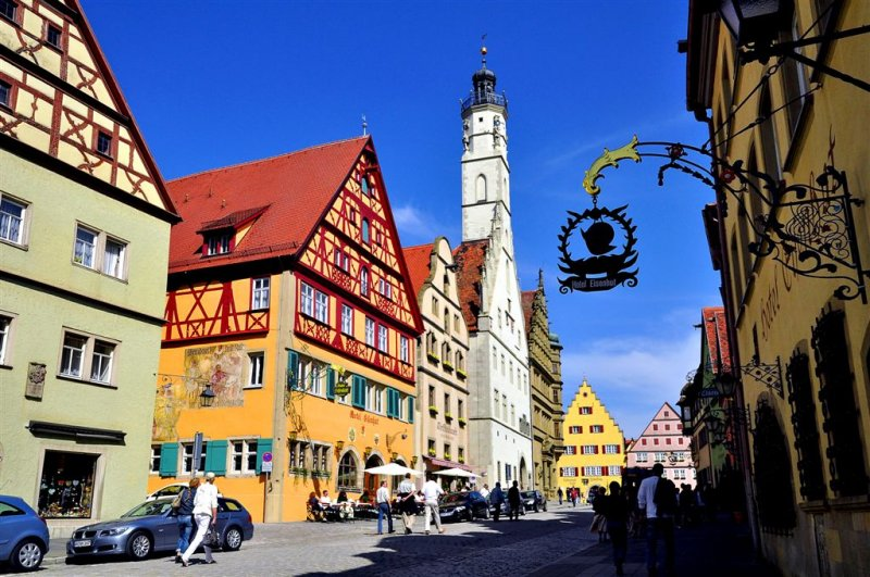 Picturesque Rothenburg, Bavaria