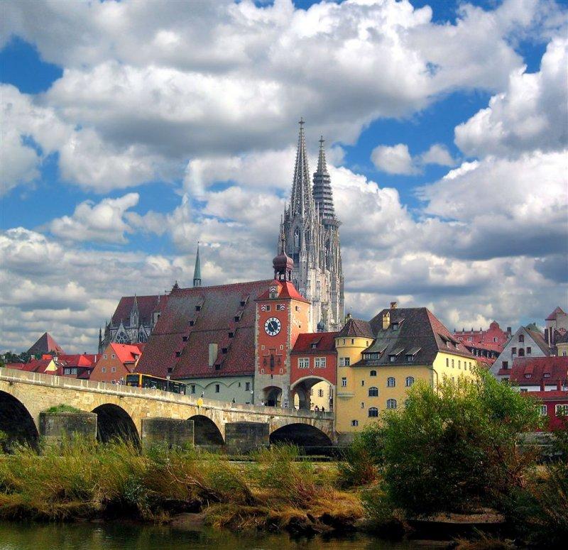 Charming Regensburg, Bavaria, Germany
