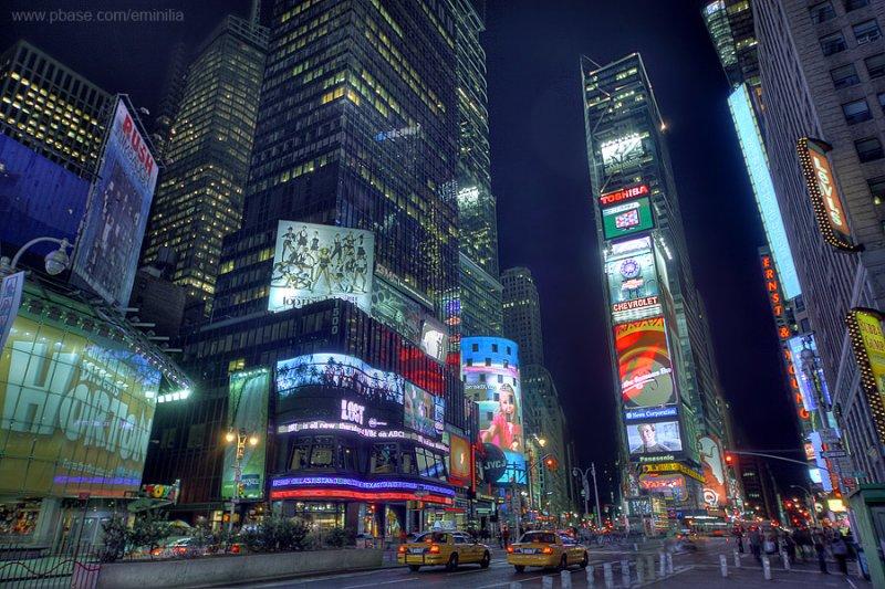 Times Square - New York, Manhattan