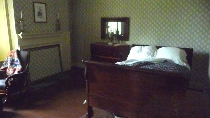 Martin Jrs Bedroom, the 3rd son. He was sickly and died of consumption at 42. He was fond of European ballerina, Fanny Eisler.
