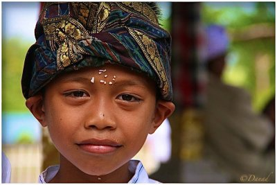 The colorful Turban.